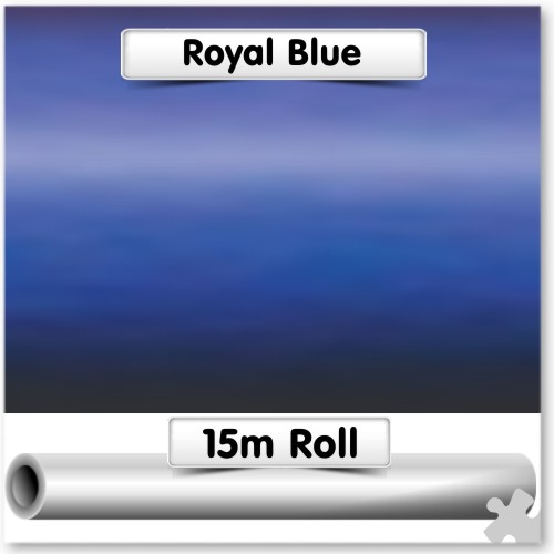 Royal Blue Super-Wide Poster Paper 15m Roll
