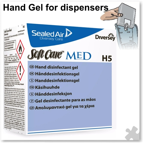 Diversey Soft Care Med H5 Hand Gel 800ml