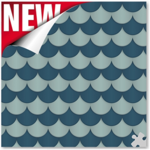 Scallop - Navy Ella Bella Backdrop Paper
