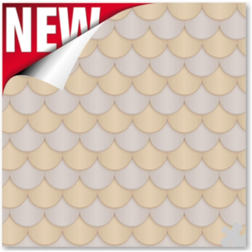 Scallop - Neutral Ella Bella Backdrop Paper