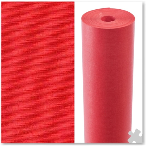 Scarlet Embossed Display Paper - 25m roll