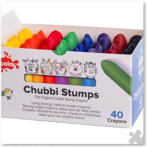 Chubbi Stumps Crayons - Box of 40