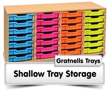 Shallow Tray Storage