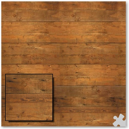 Shiplap Design Fadeless Display Paper - 15m