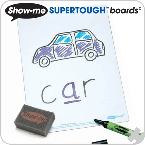Show-Me Supertough Boards, A4 Plain, 35 Class Pack