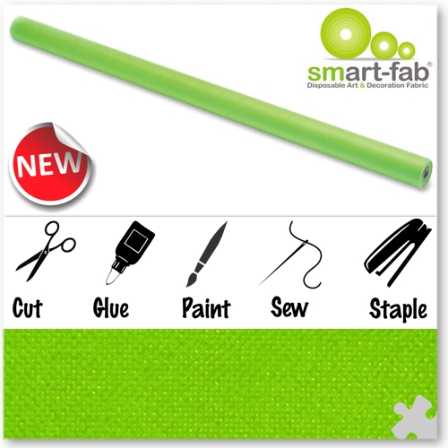 Apple Green Smart-Fab Display Fabric