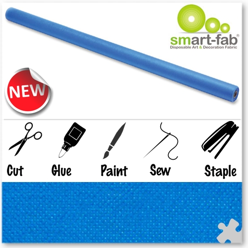 Bright Blue Smart-Fab Display Fabric