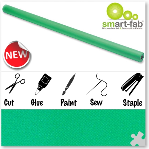 Grass Green Smart-Fab Display Fabric