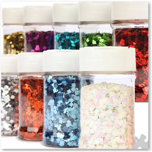 Square Cut Glitter Assortment