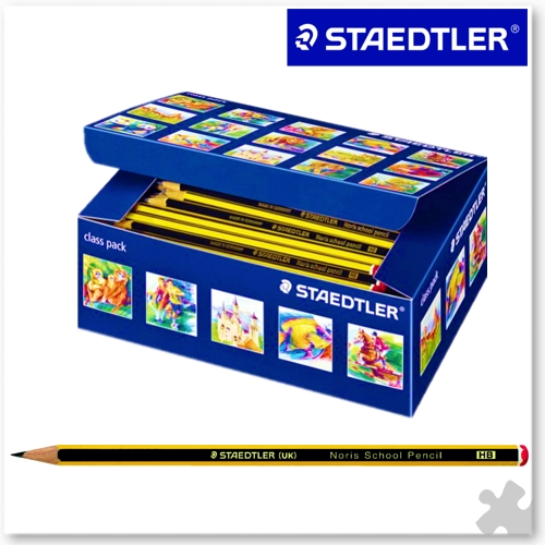 150 Staedtler Noris School HB Pencils