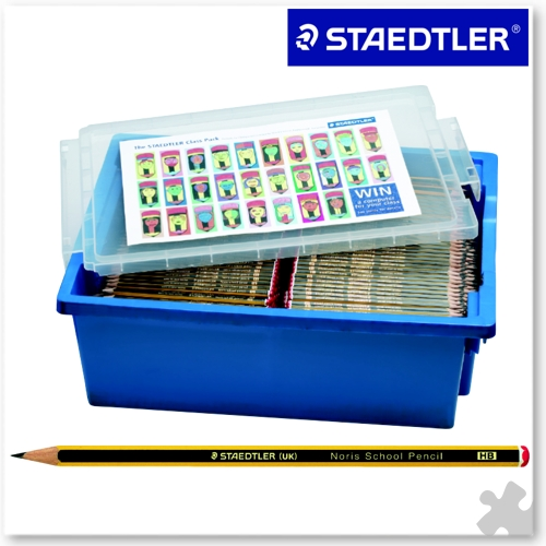 1500 Staedtler Noris School HB Pencils in a Gratnells Tray