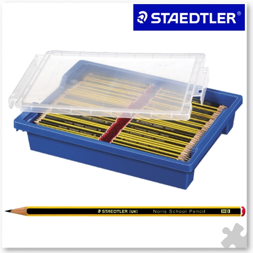 720 Staedtler Noris School HB Pencils in a Gratnells Tray