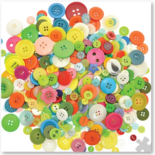 Assortment of Craft Buttons