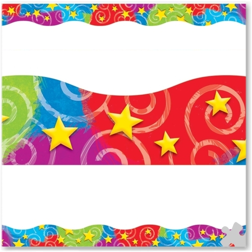 Stars N Swirls Terrific Terrific Trimmer Borders
