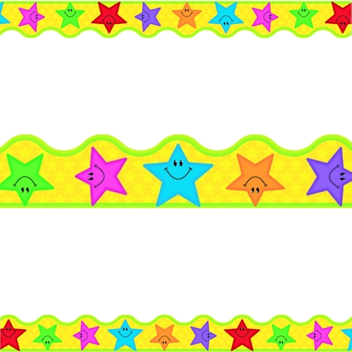 Stars Terrific Trimmer Borders