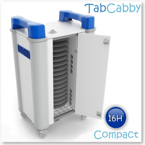 Tabcabby 16H Compact - Tablet Storage & Charging Unit