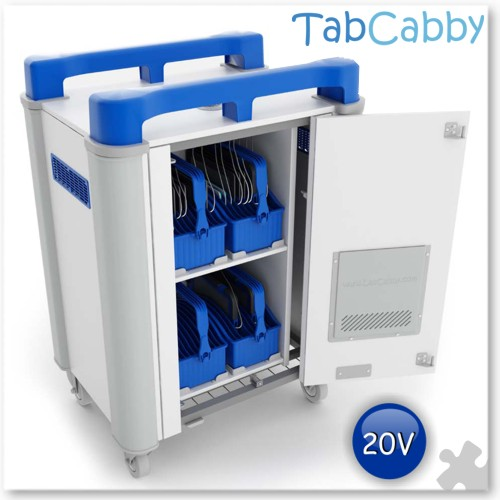 Tabcabby 20V - Tablet Storage & Charging Unit