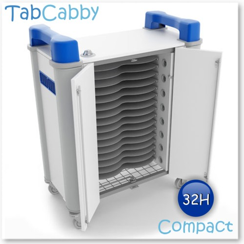 Tabcabby 32H Compact - Tablet Storage & Charging Unit