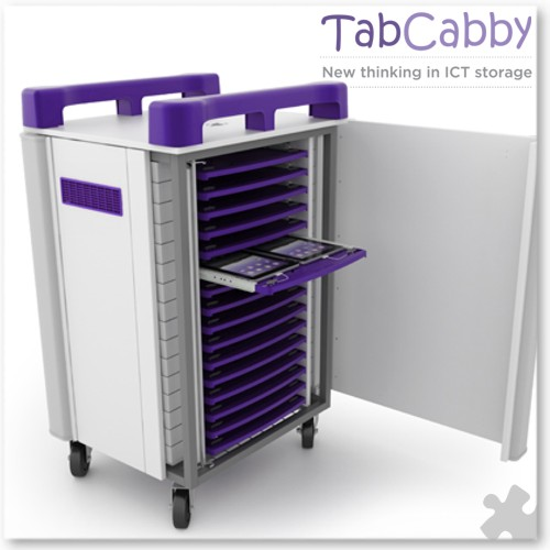 Tabcabby 32H - Tablet Storage & Charging Unit