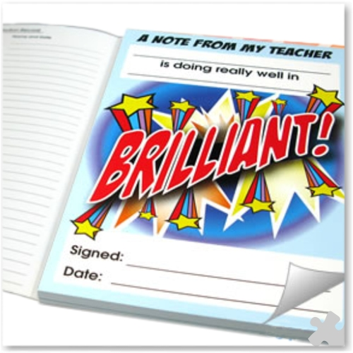 Teachers Quick Note Pad - Brilliant