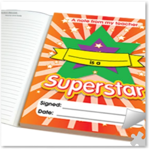 Teachers Quick Note Pad - Superstar