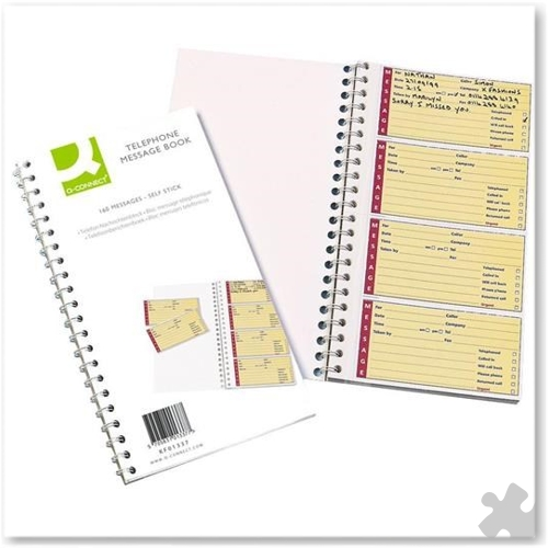 Telephone Message Book, 320 adhesive messages