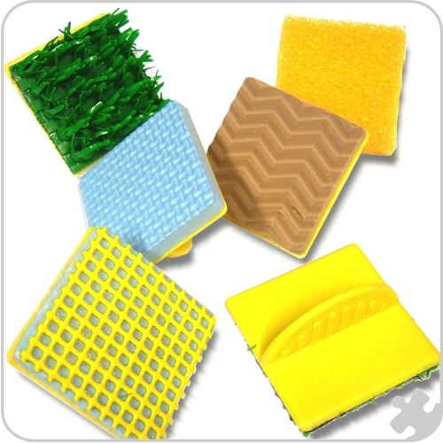 Texture Stampers, 6 pack