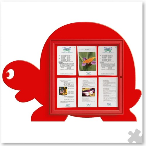 Tortoise Shaped Notice Board