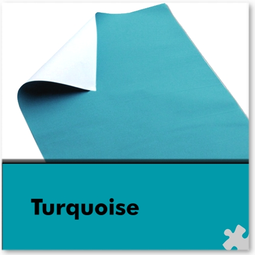 Turquoise Poster Paper Sheets