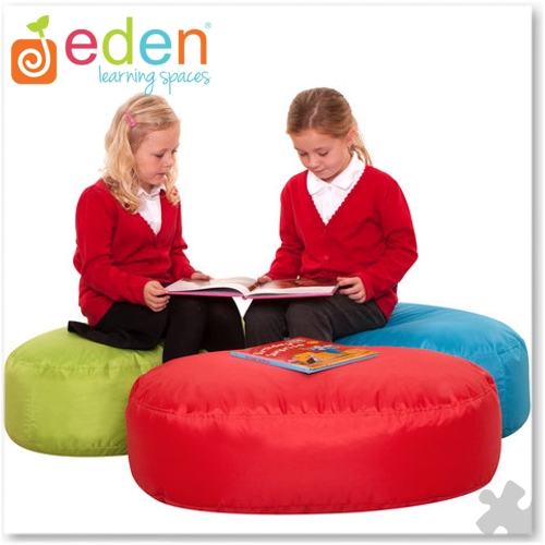 Bright Two Seater Ovel Bean Bags