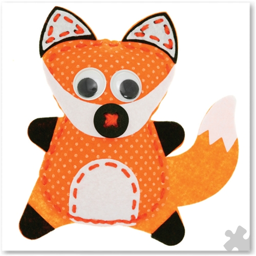 Willow the Fox Woodland Buddies Sew Kit