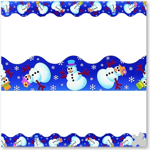 Winter Fun Terrific Trimmer Borders