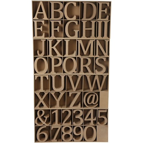 Large Wooden Letters, Numbers & Signs