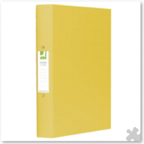A4 Ring Binders, 10 Yellow