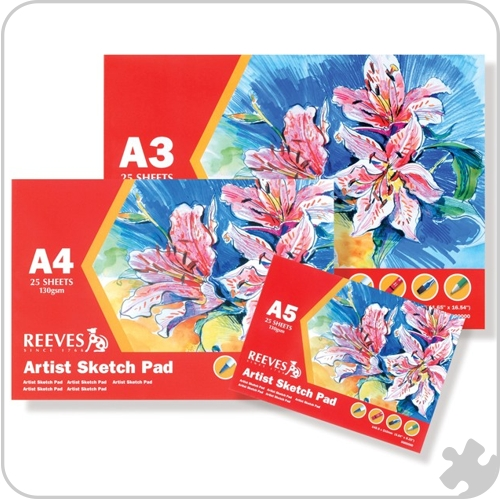 Reeves Artists Sketch Pads, A3