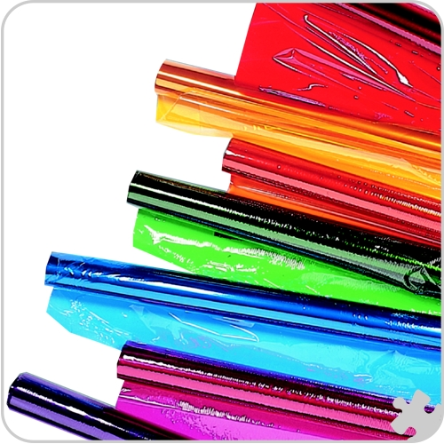 Cellophane Wrap, 6 Roll Assortment