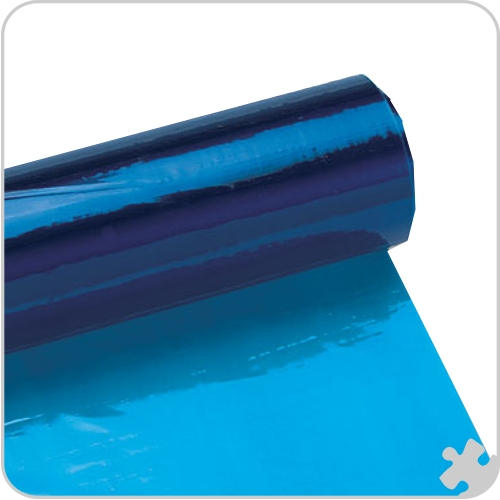 Blue Cellophane Roll