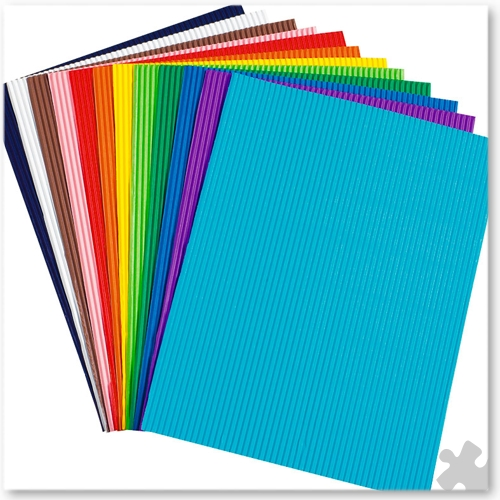 Bright Corrugated Card