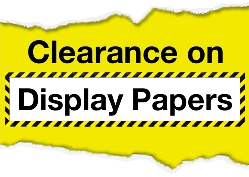 Display Backing Paper