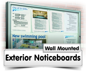Wall Mounted Noticeboards
