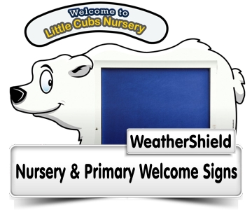 Weathershield Welcome Signs
