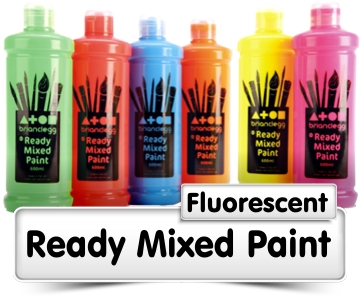 Fluorescent Ready Mixed Paint