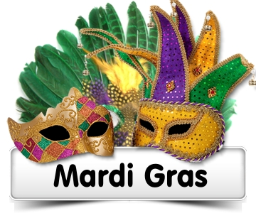 Feb 13th - Mardi Gras