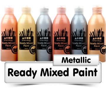 Metallic Ready Mixed Paint