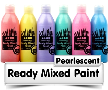 Pearlescent Ready Mixed Paint