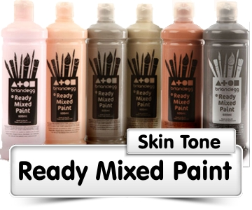 Skin Tone Ready Mixed Paint