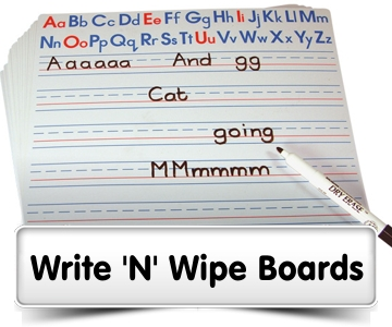 Write n Wipe Boards