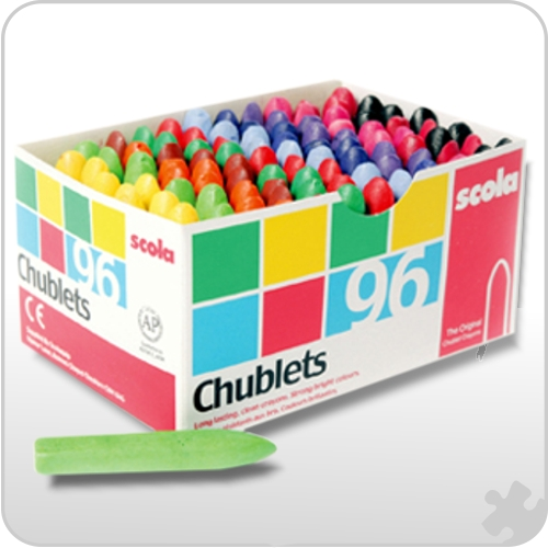 Chublets Crayons, Box of 96