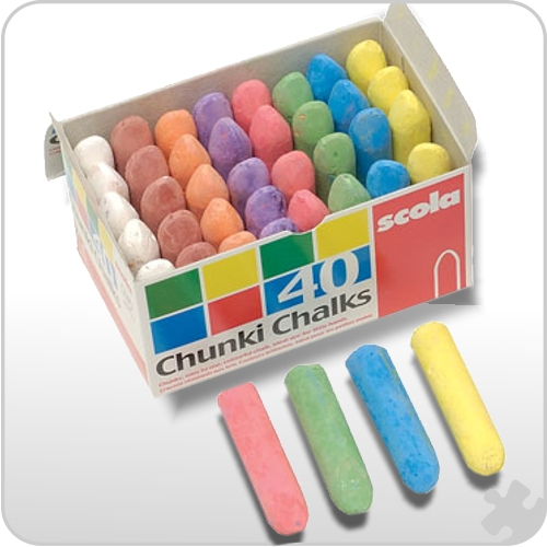 Chunki Chalks, Box of 40
