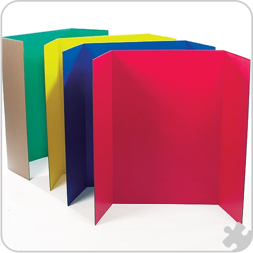 Presentation Boards in Assorted Colours
